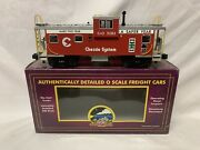 ✅mth Premier Chessie Extended Vision Caboose For Diesel Engine Lighted
