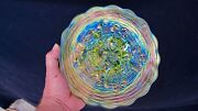 Northwood Lime Green Rose Show Plate - Perfect With Terrific Color