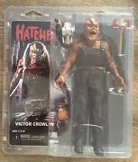 Neca Hatchet Movie Victor Crowley Clothed 8 Action Figure Official - In Stock
