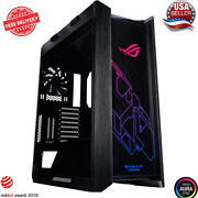 Asus Rog Strix Helios Gx601 Rgb Mid-tower Computer Case For Up To Eatx With Usb