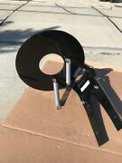 Large Black Trolling Plate Powder Coated With A Hole Lowest Price