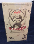 Coca Cola Limited Edition Teddy Bear Stuffed Toy Serial Number 142 New Japan