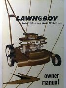 Lawn-boy 1960 Omc De Luxe 5210 7210 Rotary Mower Owner Service And Parts Manual
