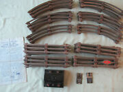 Lionel 0-27 Gauge Track And 167c Whistle Controller