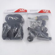 2 Pack Eevelle Bimini Marine Accessories 4 Canopy Straps And 2 Canopy Bar Hinges