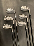 Pxg 0311st Irons 5-pw Kbs Tgi 80 Graphite Shafts And Hybrid Retail 5k+