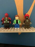 Custom Lego Ben Ten Minifigures Hand Painted By Freens Figs