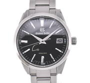 Seiko Gs 9r65-0bm0/sbga301 Stainless Steel Spring Drive Menand039s Watch L103512