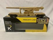 ✅k-line By Lionel Operation Iraqi Freedom Cannon Flat Car O Gauge Military Army
