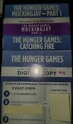 The Hunger Games Complete Collection Digital 4k Uhd Only No Discs