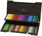 Faber Castell Polychromos Colored Pencil 120 Color Set Wooden Box 110013