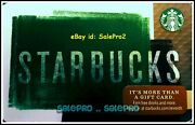 Starbucks 2016 Daily Sandwich Menu And Coffee Chalkboard Collectible Gift Card