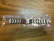 Rolex Band 20mm New Old Stock Flip Lock Stainless Fits Explorer And 20mm Sport