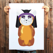Fnnch Sister Bear Print Signed Numbered Xx/150 Honey Bear Poster