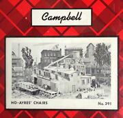 Campbell Scale Models Ho Kit 391 - Ayres Chairs