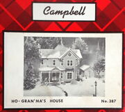 Campbell Scale Models Ho Kit 387 - Gran'ma's House