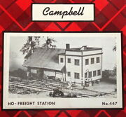 Campbell Scale Models Ho Kit 447 - Freight Station