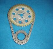 Nos 65 66 67 68 69 70 Chevy 396 427 Engine Timing Chain Set Camshaft Sprocket
