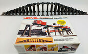 Lionel 6-2110 Graduated Trestle Set, 22 Piers And Tie Channels Complete Set In Box