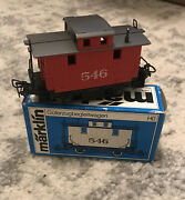 Marklin Ho 4578 Us Bobber Caboose 546, Nice Condition With Box, Fast Us Shipping