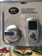 Nwt Weber Style 32996 Barbecue Beeper Digital Thermometer