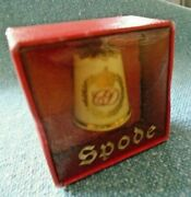 Vintage Charles And Diana Wedding Thimble And Box Spode 1981 Collectors.-new