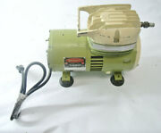 Vintage Sprayit Model 720-2 Paint And Insecticide Oilless Sprayer 35 Psi 1/3hp