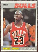 1987-88 Fleer Basketball Set Nm-mint To Gem Mint One Owner With Stickers
