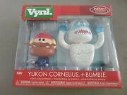 Funko Vynl. Rudolph The Red Nosed Reindeer Yukon Cornelius And Bumble 2 Pack