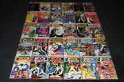 Moon Knight 1 - 38 Vf Complete Sets 48 Comics Werewolf By Night Marvel Lot 32 33