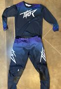 Thor Pulse Fader - Women's Motocross / Mx / Gncc / Jersey And Pant Gear Combo