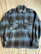Vintage 80s Woolrich Shadow Plaid Jacket Size M Made In Usa Good Condition Rare
