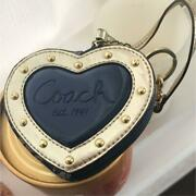 Authentic Coach Mini Pouch Bag Charms Key Chain Free Shipping No.5017