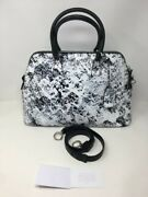 Maison Margiela 5ac Painted Faux Leather Tote Bag - White And Black - Andpound2325