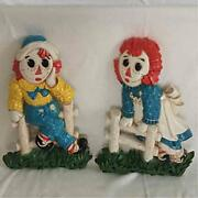 Sale Raggedy Ann And Andy Wall From Japan Fedex No.1933