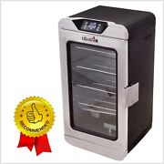 Deluxe Digital Electric Smoker Grill Bbq Stainless Steel Digital Control Remote