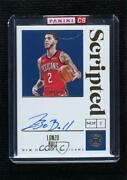 2019-20 Panini Encased Scripted Signatures Gold /10 Lonzo Ball Ss-lbl Auto
