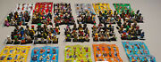 Lego Collectible Minifigures Series 1 Through 11 Complete With Check Lists