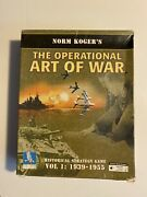 The Operational Art War-norm Kogerpc Cd Rom Vintage Strategy Gametested