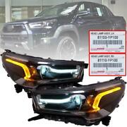 Head Light Front Lamp Projector Genuine For Toyota Hilux Pickup Ute 2020 2021