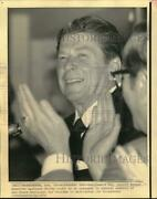 1974 Press Photo Ronald Reagan Addresses Young Americans For Freedom Members