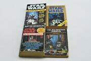 Star Wars Paper Back Book Lot Of 4 Books - Trilogy, Han Solo Adventures And More