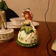 St Patrick's Day Collectible Porcelain Figurines Both 50
