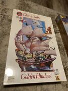 8 Vintage Model Ship Kits Both Wooden And Plastic All New