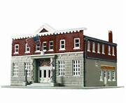 Walthers Life-like 433-7481 N Scale 5th Precinct Police Station Kit +accessories