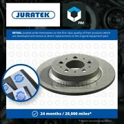 2x Brake Discs Pair Solid Fits Volvo S80 Mk1 3.0 Rear 01 To 06 287mm Set 9434167