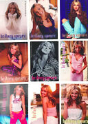 Lot Of 9 Britney Spears 2000 Series 3 Vending Machine Stickers Pop Music