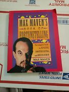 Max Maven's Book Of Fortunetelling Paperback Book