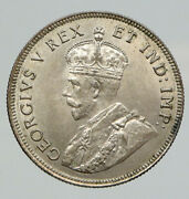 1925 British East Africa Uk King George Vi Rare Old Silver Shilling Coin I91751