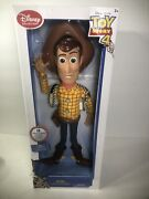 New Disney Pixar Toy Story 4 Talking Woody 16 Action Figure From Disney Store